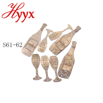 Las decoraciones para fiesta de bodas al por mayor de HYYX favorecen la confeti de accesorios