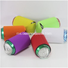 Warna Penuh Silk-screen Neoprene Can Cooler Sleeve