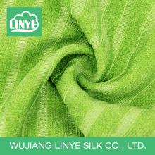 Tecido tingido de verde, tecido de casa, tecido de colchão