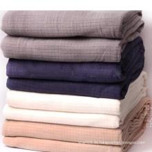 Polyester Baumwolle Fleece Airline Decken Großhandel