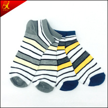 Stripe Man Ankle Sock Wholesale China Manufacturer Compression Socks