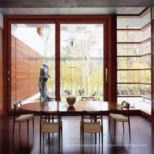Fenêtre coulissante intérieure en aluminium trempé à double vitrage Feelingtop (FT-W80 / 126)