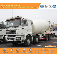 8X4 18m3 mixing cement truck SHACMAN euro4