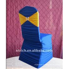 Charmant plissé Spandex couvertures de chaise pour mariage & banquet