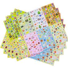 Variedad de conjuntos de surtidos de paquetes de pegatinas de dibujos animados de No-Duplicate para niños