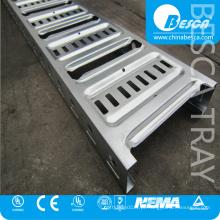 Tipo galvanizado Laddertray BC4 do AU da bandeja de cabo de Electirc com UL