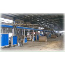 Ligne de production de carton ondulé Wj-120-1800-I 5 couches