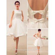 2017 Sexy Backless wedding party Robes Ruffle Robe De Soiree Robes de demoiselle d'honneur MB2587