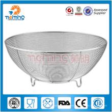 cesta de fruta de la malla del acero inoxidable / tamiz de la cocina / cesta de almacenamiento vegetal