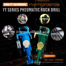 YT28 Pneumatic Air Leg Rock Drill For Mining