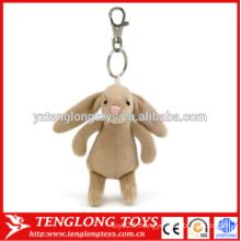 Porte-clés en peluche pour animal animal personnalisé