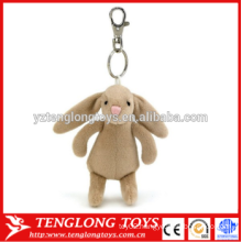 custom animal toy plush keychain