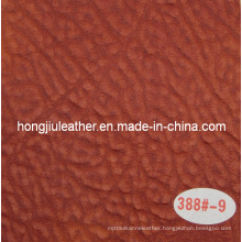 China Sipi PVC Leather Application in Sofa/Chair (388#)