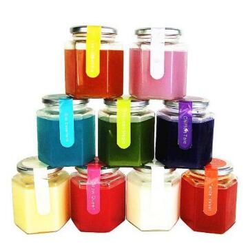 Scented Candles in glass jar