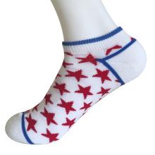 Medio cojín poli moda no mostrar calcetines estrellas pequeñas (jmpn08)