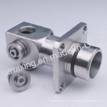 CNC bearbeitete Präzisionsteil des Edelstahl-Metallkopfes
