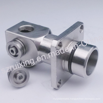Custom Made CNC Machining Part of Stainless Steel Metal Head