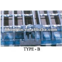 galvanized steel grilles clips, steel grilles clamps