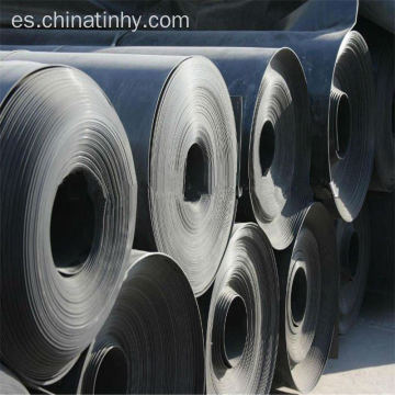 HDPE Geomembrane Liner en color negro