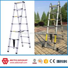 Escalera telescópica de aluminio de precio / escalera táctica / escalera portátil