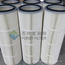 FORST Hochleistungs-Staub zylindrische Filter-Material-Produktionspatrone