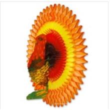 Neue Design 21 Zoll Honeycomb Seidenpapier Türkei Dekoration