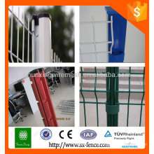 Anping factory 4x4 galvanisé en métal carré clôture des poteaux / poteaux de fixation