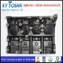 Длинный блок короткозамкнутый дизельный двигатель для VW Jv481-2000 026 103 011c