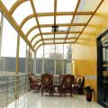 Tampa de vidro do pátio do Pvc da marquise do telhado da varanda do quarto