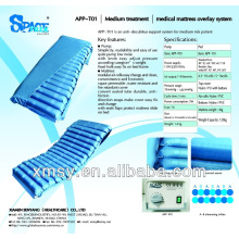 Bühne II mittlere Risiko Pflege Anti-Dekubitus-Matratze mit Pumpe Nylon / PVC CPR APP-T01