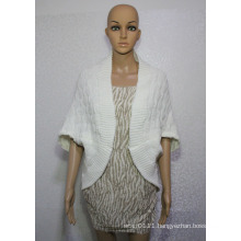 Women Fashion Acrylic Knitted Winter Cardigan Shawl (YKY4498)