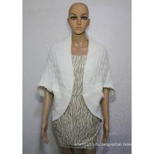 Женская мода акрил вязаный кардиган шаль (YKY4498)