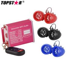Водонепроницаемая система сигнализации Мотоцикл MP3 Audio