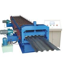 Профилегибочная машина для производства гофрированных кровельных панелей