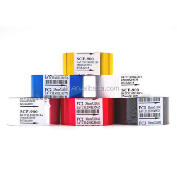 Expiration Printing Machine Used 30mm*100m FC-2 Type Multiple Color Hot Stamping Foil