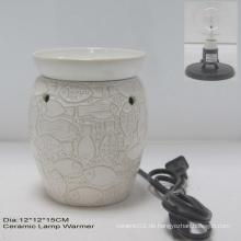 Elektrische Lampe Wärmer W / Clear Birne-11ce10678