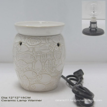 Electric Lamp Warmer W/Clear Bulb- 11ce10678