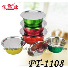 Stainless Steel Color Wash Finger Basin (FT-1108)
