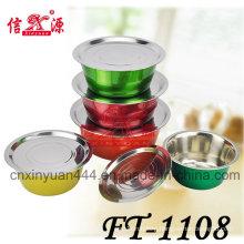 Stainless Steel Color Wash Finger Basin (FT-1108)