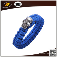 Cheap Custom Metal Paracord Bracelets with Logo