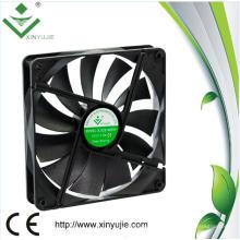 Alto Cfm DC sin escobillas 12V 140 mm Fan de la caja 140X140X25mm Ventiladores de refrigeración