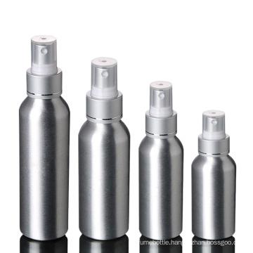 Wholesale 30Ml 50Ml 100L Cosmetics Cylinder  Mist Spray Aluminum Bottle