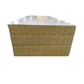 Heat insulation rock wool sandwich panel