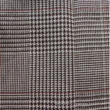 Plaid teint en fil de chanvre (QF13-0075)