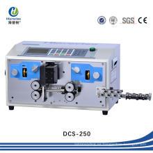 Alisado automático de alta precisión alambre y corte y máquina de pelado de cables
