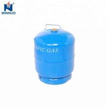 Nigeria 3kg 5kg 12.5kg BBQ,cooking lpg gas cylinder with competitive price