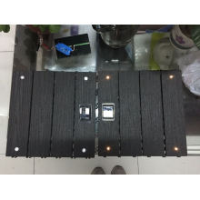 LED DIY WPC Decking Tile