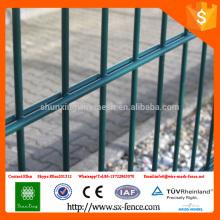 ISO9001 двойной горизонтальный забор сетки \ 2D двойной горизонтальной проволочной сетки ограждения