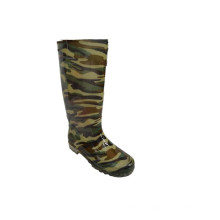 fashion knee high rain rubber gumboots safety classy men's rubber boots gumboots