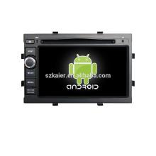 Quad core! Dvd do carro com link espelho / DVR / TPMS / OBD2 para 7 polegadas tela sensível ao toque quad core 4.4 sistema Android Chevrolet Cobalt / Spin